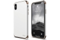 Чехол накладка Elago для iPhone X Empire Hard PC, White/Rose gold (ES8EM-RGDWH)