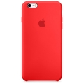 Чехол в стиле Apple Silicone Case для iPhone 6S / 6 под оригинал (Red)