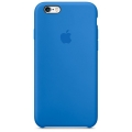 Чехол в стиле Apple Silicone Case для iPhone 6S / 6 под оригинал (Blue)