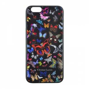 Купить чехол накладку для iPhone 5 / 5S / SE Christian Lacroix Butterfly Hard Black, CLBPCOVIP5N