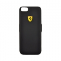 Чехол аккумулятор Ferrari для iPhone 7 / 6 / 6S Powercase Hard 2800 mAh Rubber Black (FEFOPCP7BK)