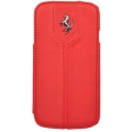 Чехол блокнот Ferrari для Samsung Galaxy S4 Booktype Montecarlo Red FEMTFLBKS4RE красный