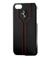 Чехол накладка Ferrari для iPhone 5 / 5S Hard Montecarlo Black FEMTHCP5BL