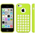 Чехол накладка Hollow Dot TPU Case для iPhone 5C (зеленый)