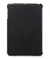 Кожаный чехол накладка для iPad Mini 2/3 Melkco Back Case Slimme Type Leather - (Black)