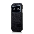 Чехол книжка Momax Flip View case для Samsung i9190 Galaxy S4 Mini черный (FVSAS4MINID)