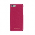 Кожаный чехол накладка для iPhone 7 / 8 Moodz Floater leather Hard Ciciamino (pink), MZ901020