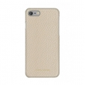 Кожаный чехол накладка для iPhone 7 / 8 Moodz Floater leather Hard Eggshel (white), MZ901019