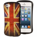 Гелевый чехол для iPhone SE / 5S / 5 с флагом UK London flag Waistline Style